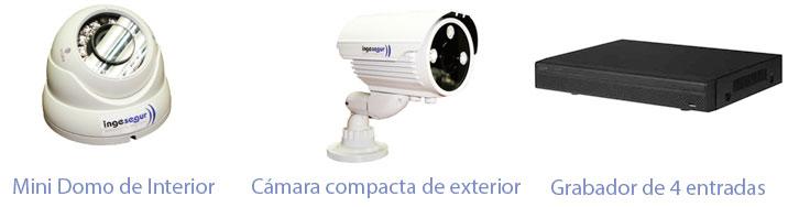Monitorización de Cámaras de vigilancia para Comunidades de Propietarios