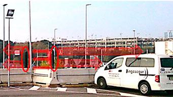 Las barreras de hormigón tipo New Yersey