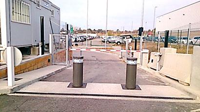 Protección efectiva de las vías de entrada y salida.